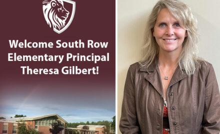 South Row Elementary School Principal Theresa Gilbert